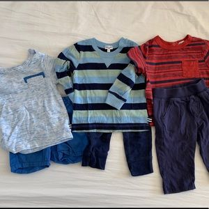 Splendid brand baby boy outfits - 6-12 months